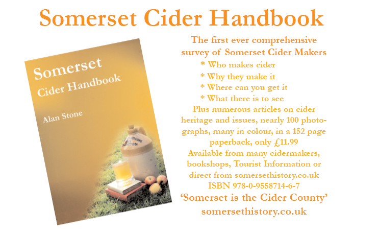 Somerset Cider Handbook - By Alan Stone